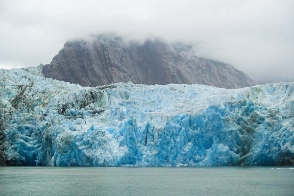 Sawyer glaciers in Tracy Arm Fjord