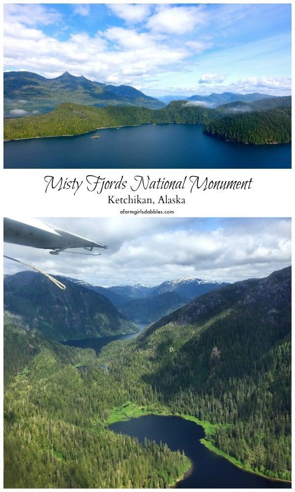 pinterest image of Misty Fjords National Monument