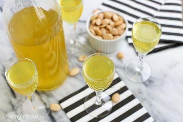 Homemade Limoncello from afarmgirlsdabbles.com