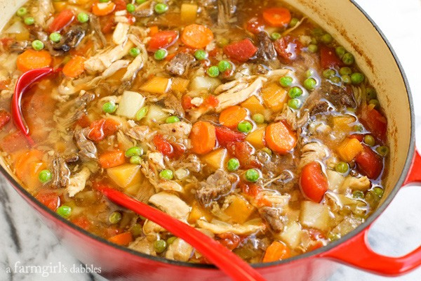 Booyah {a soup tradition of the Upper Midwest} from afarmgirlsdabbles.com