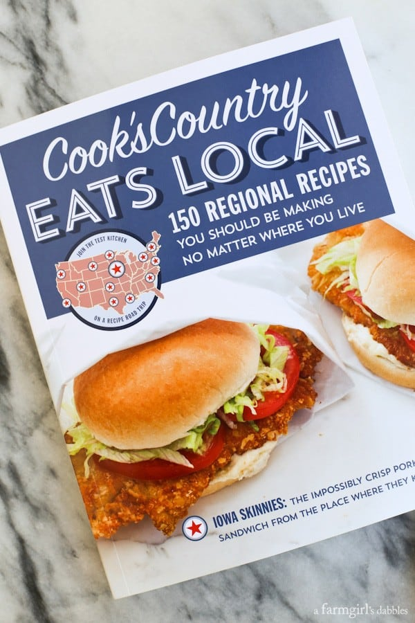 Cook's Country Eats Local cookbook review from afarmgirlsdabbles.com