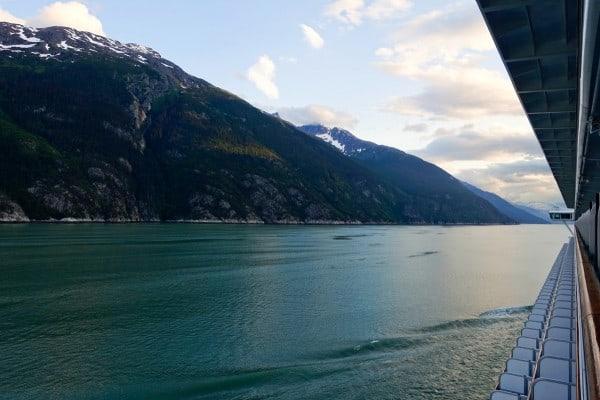Ruby Princess - rolling into Skagway, Alaska - from afarmgirlsdabbles.com #AFDtravel #comebacknew