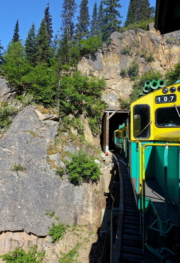Skagway, Alaska - White Pass & Yukon Route Railroad - from afarmgirlsdabbles.com  #AFDtravel #comebacknew