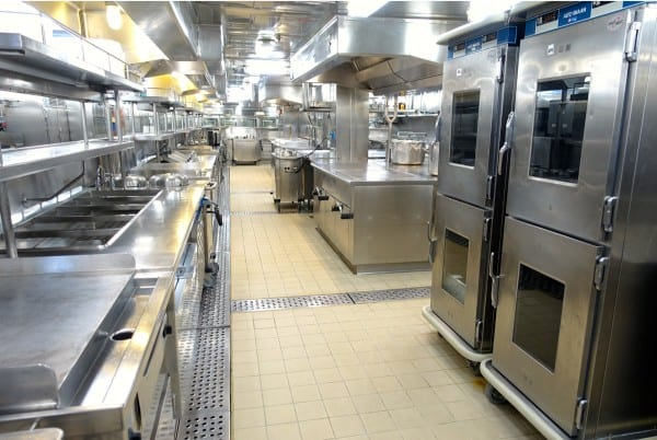 Ruby Princess galley - from afarmgirlsdabbles.com  #AFDtravel #comebacknew