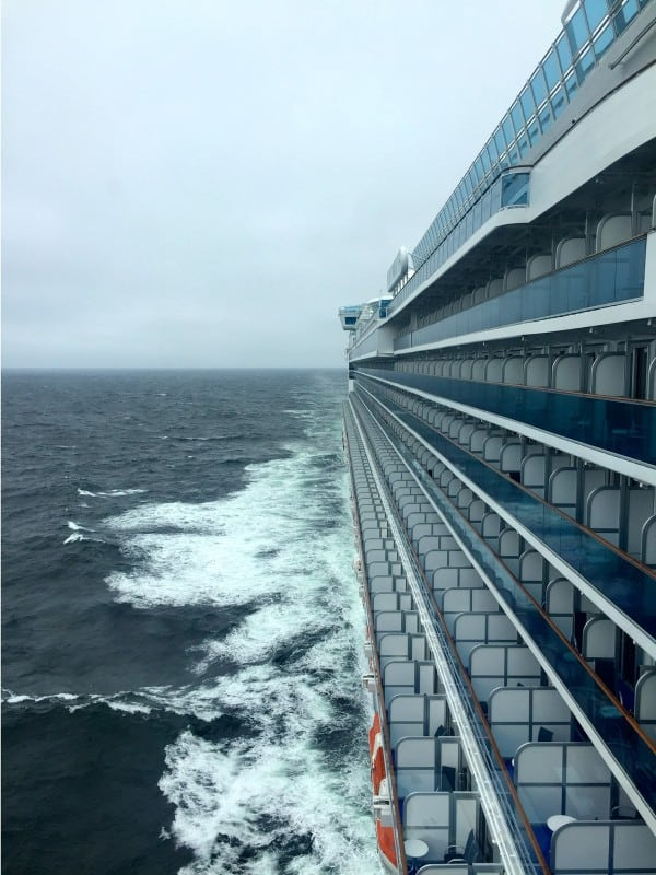 Ruby Princess - view from the Captain's bridge - from afarmgirlsdabbles.com #AFDtravel #comebacknew