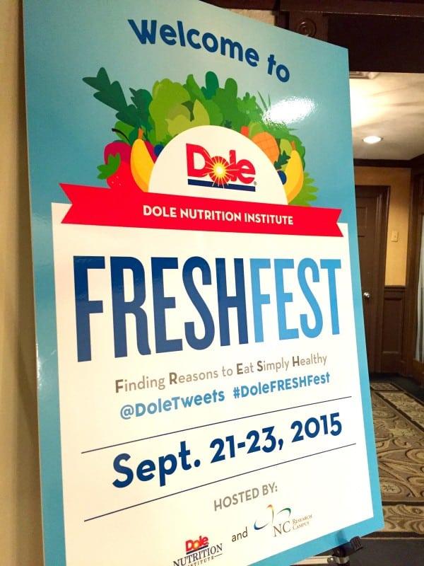 Dole FRESHFest in Charlotte, NC from afarmgirlsdabbles.com