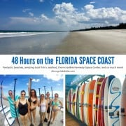 48 hours on the florida space coast