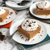 Chocolate French Silk Pie Bars with Graham Toffee Crust