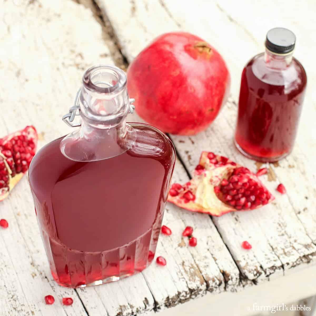 pomegranate shrub recipe a farmgirl s dabbles
