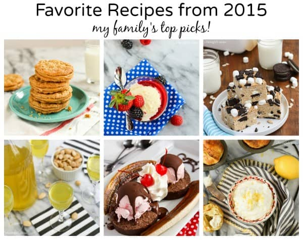 Favorite Recipes from 2015, my family's favorites - from afarmgirlsdabbles.com
