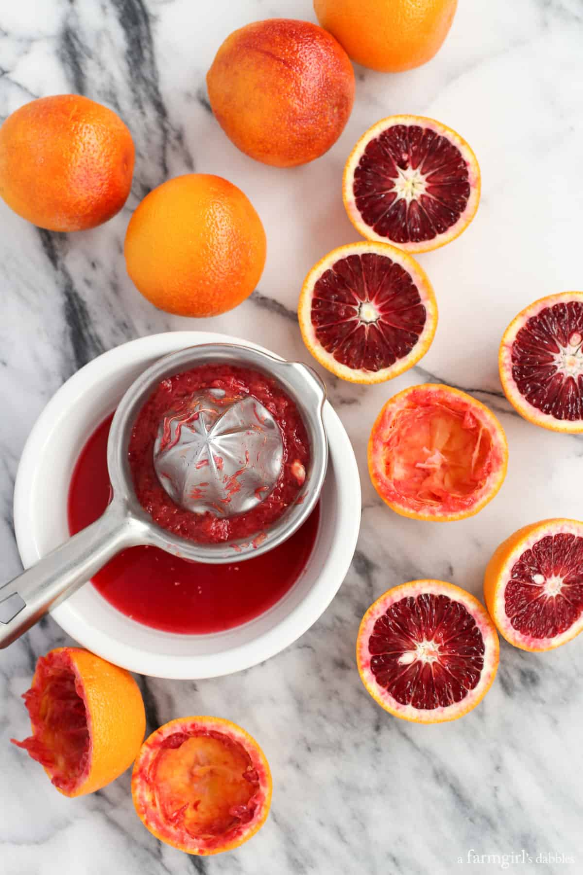 Blood Oranges from afarmgirlsdabbles.com