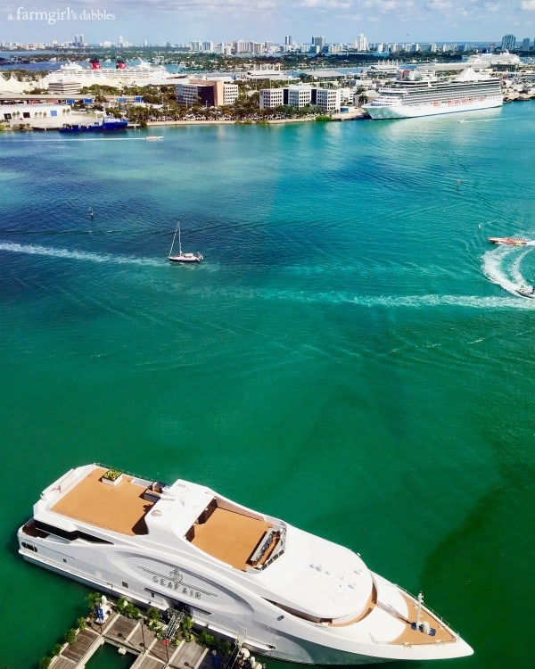 Port of Miami from afarmgirlsdabbles.com