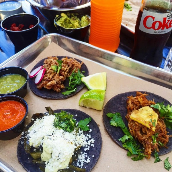 Taquiza tacos in Miami from afarmgirlsdabbles.com
