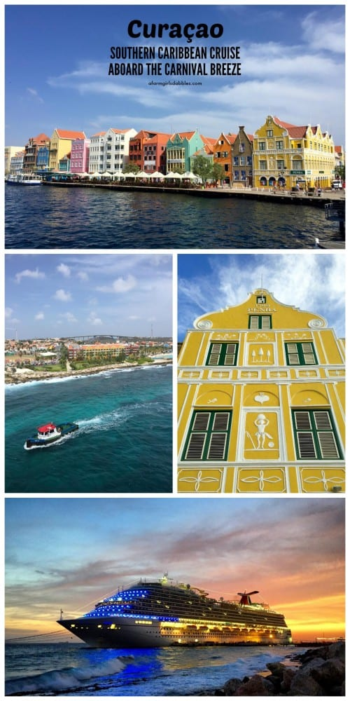 pinterest image of Visiting the island of Curaçao