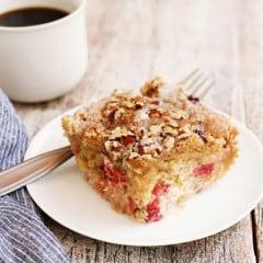Loree S Rhubarb Coffee Cake Recipe