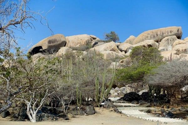 Ayo Rock Formations in aruba