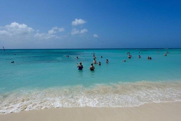 Arishi Beach in Aruba