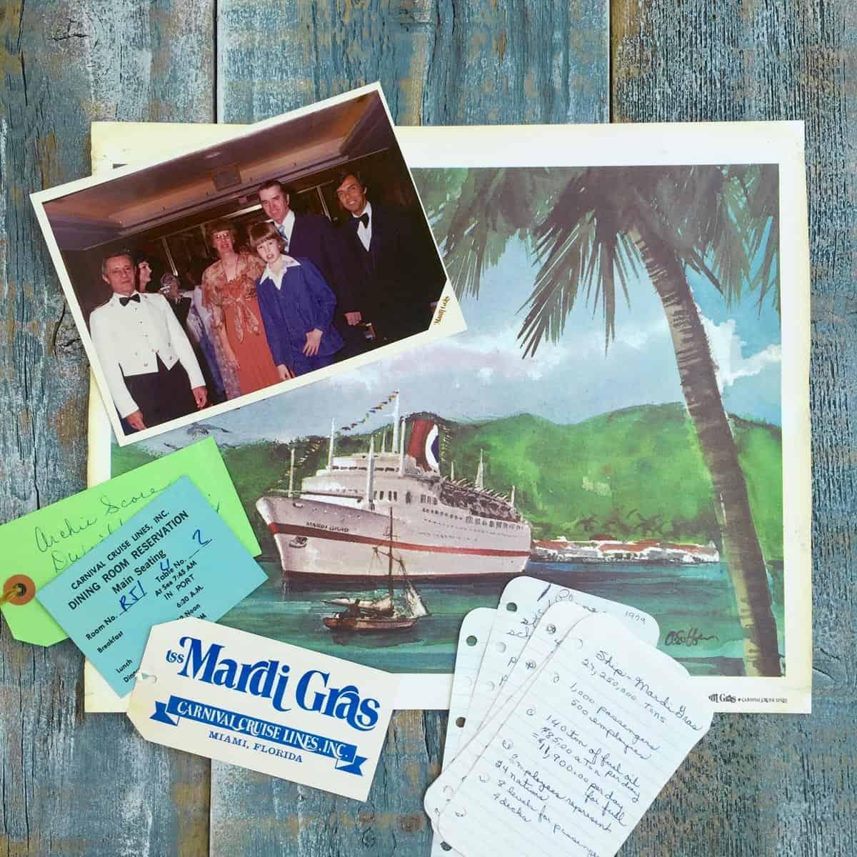 Carnival Cruise 1979
