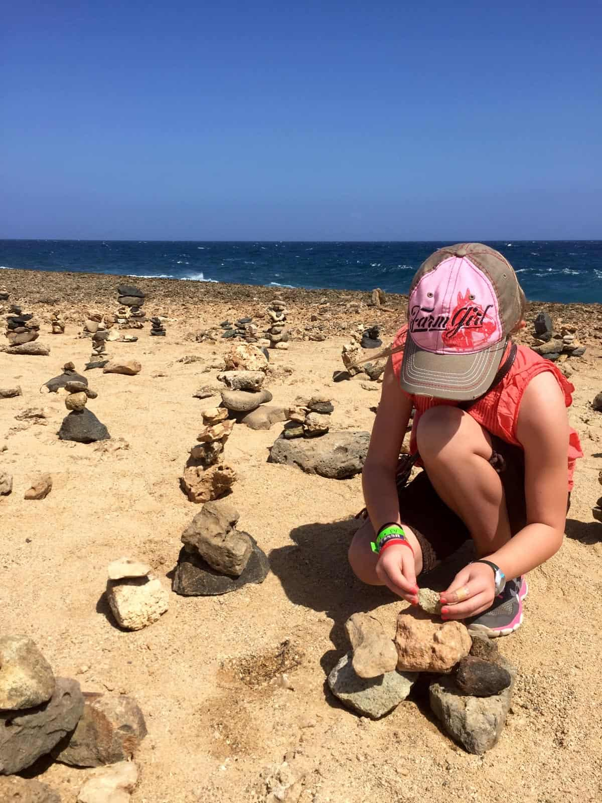 Aruba Island Tour (wishing rocks garden) from afarmgirlsdabbles.com