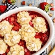 Strawberry-Rhubarb-Cobbler_AFarmgirlsDabbles_AFD-5