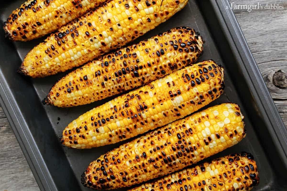 grilled sweet corn from afarmgirlsdabbles.com