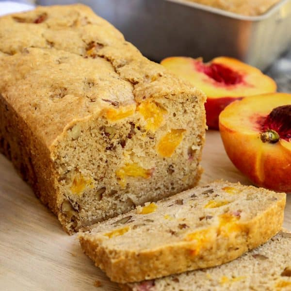 slices of Peach Bread