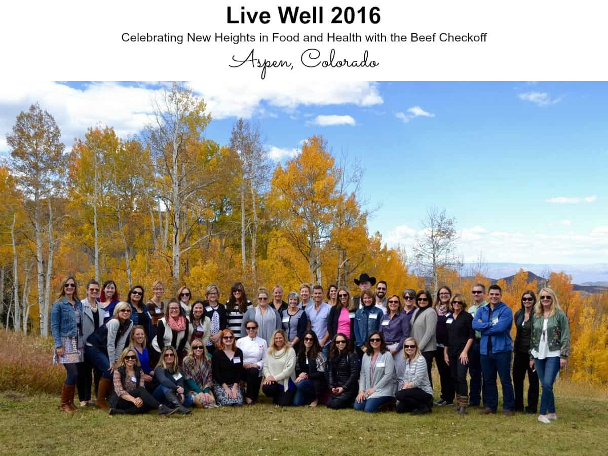 Live Well 2016 with the Beef Checkoff in Aspen, CO from afarmgirlsdabbles.com