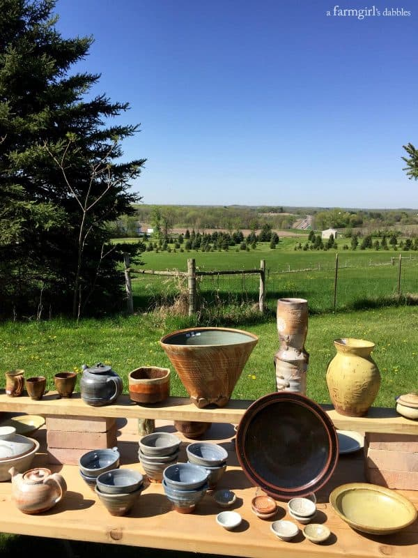St. Croix Valley Pottery Tour from afarmgirlsdabbles.com