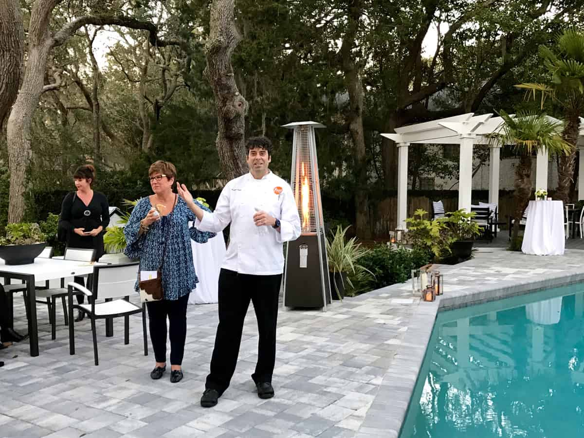 Food Network Executive Chef Robert Bleifer talks food and drink at the HGTV Dream Home in St. Simons, Georgia - from afarmgirlsdabbles.com