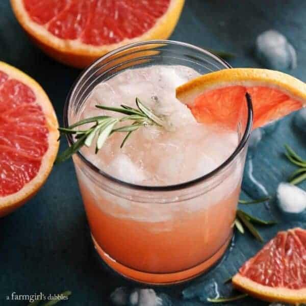 Rosemary Greyhound Cocktail