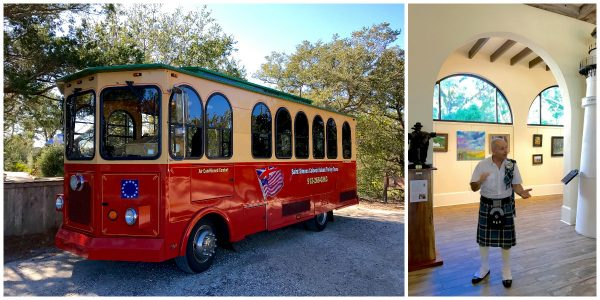 St. Simons Colonial Island Trolley Tours (ask for Captain Rod!) - from afarmgirlsdabbles.com