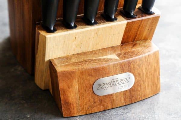 Zyliss Control cutlery from afarmgirlsdabbles.com