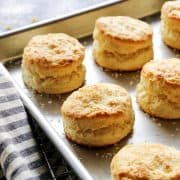 Lemon Cream Biscuits