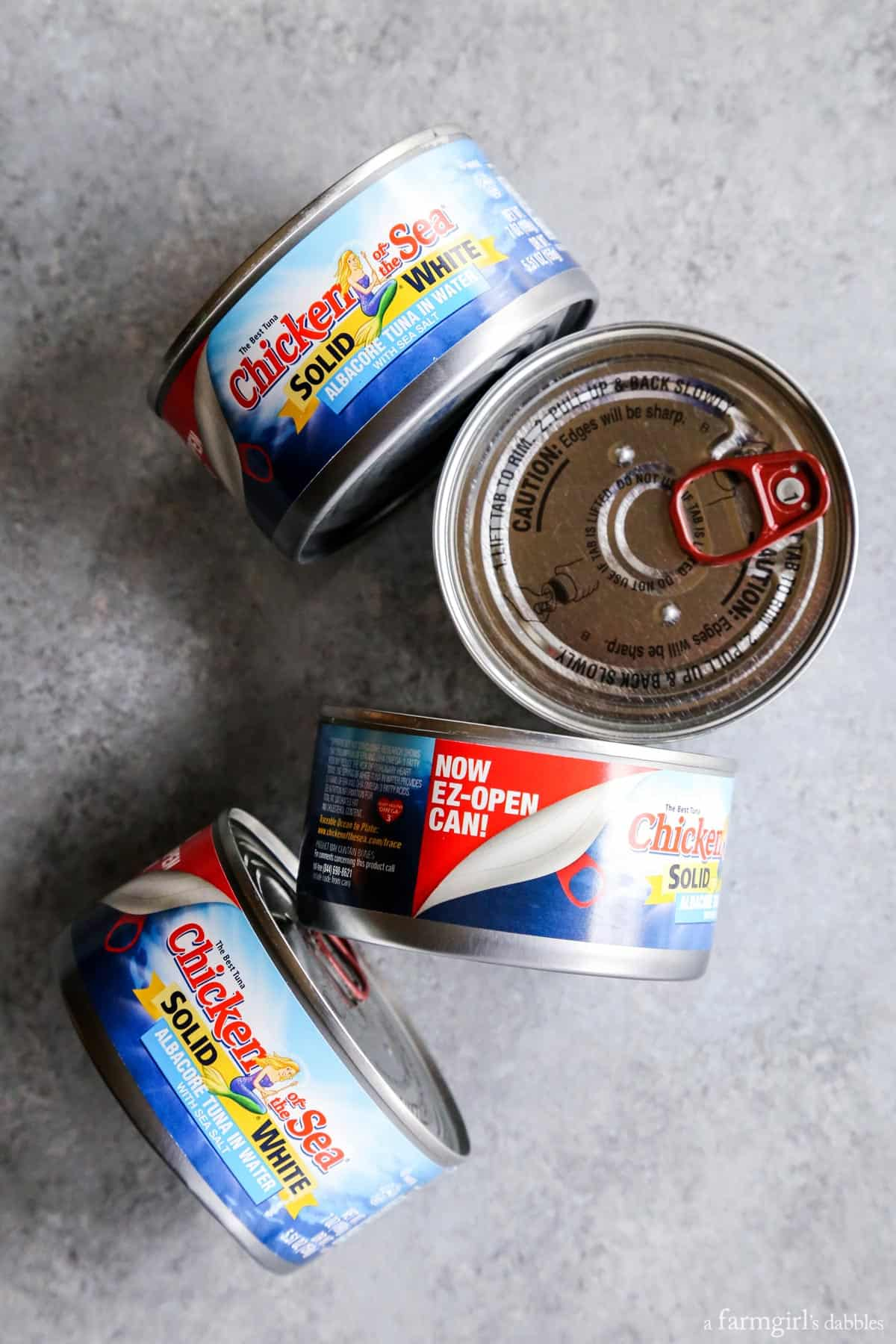 Chicken of the Sea Solid White Albacore in EZ-Open Cans from afarmgirlsdabbles.com