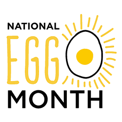 National Egg Month logo