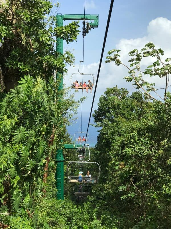 skyride in jamaica