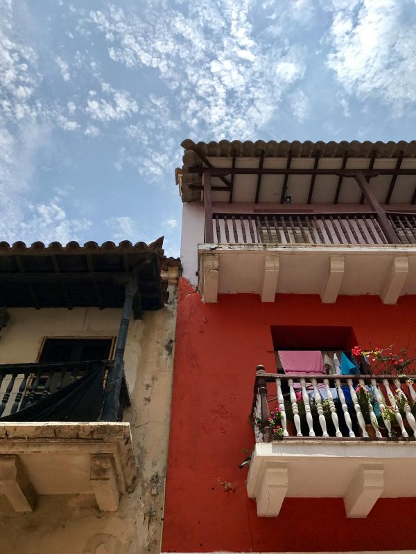 buildings in Cartagena, Colombia