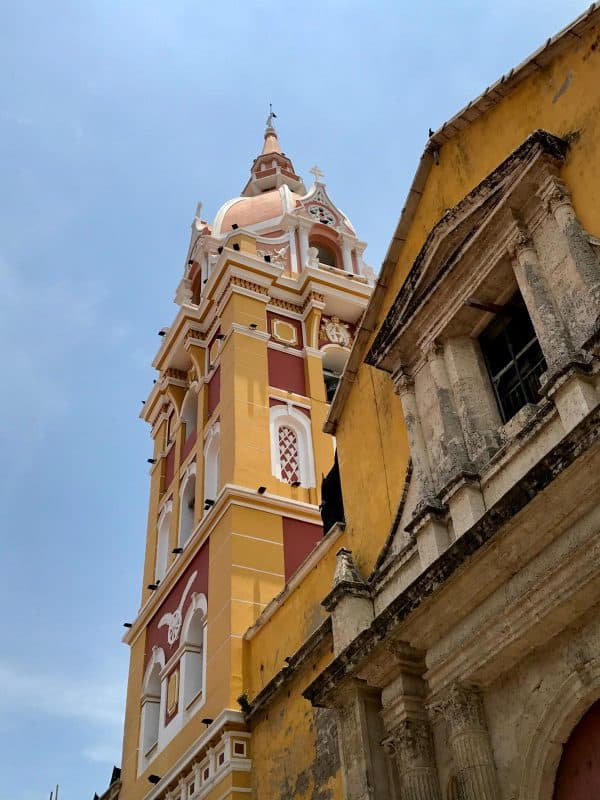 Cathedral of St. Catherine of Alexandria in Cartagena, Colombia