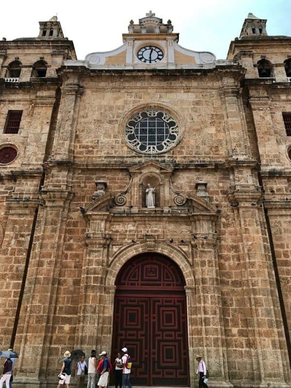 Monasterio de San Pedro Claver in Cartagena, Colombia from afarmgirlsdabbles.com