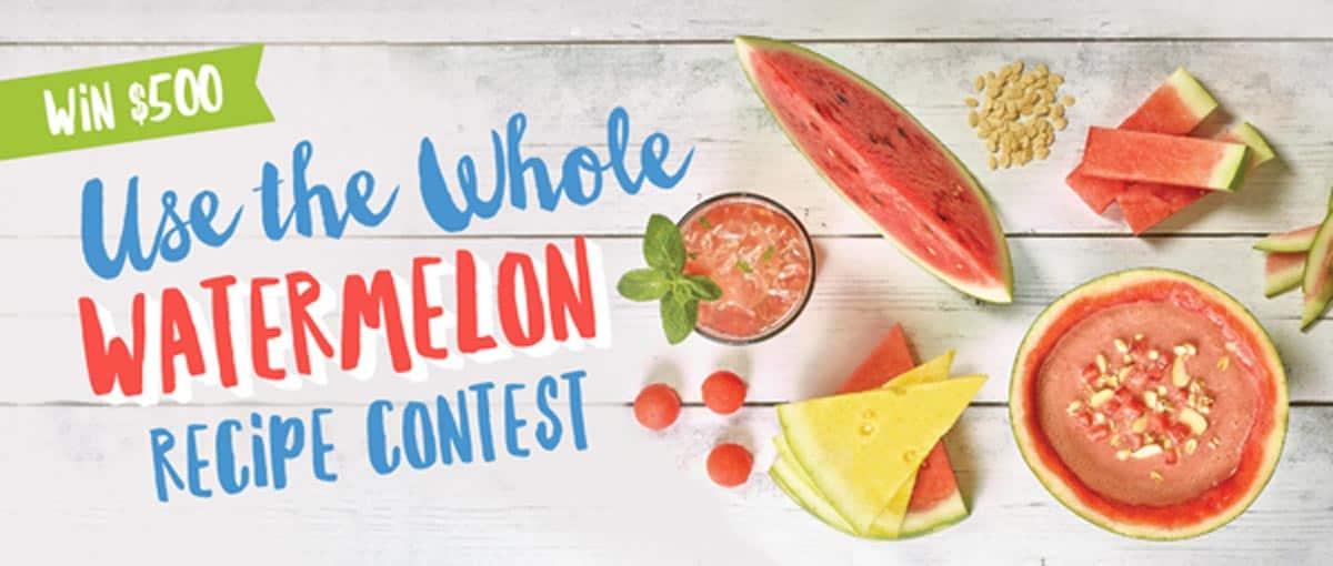 Use the Whole Watermelon Recipe Contest