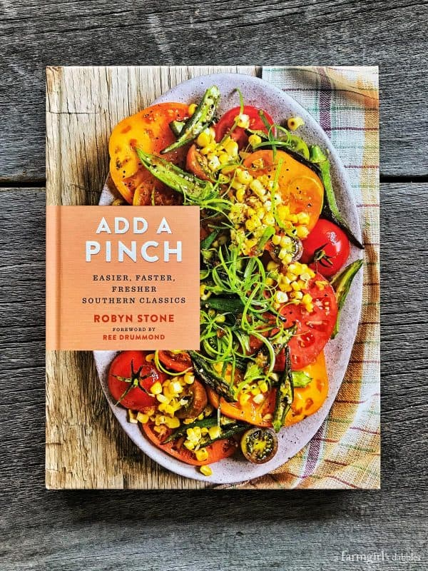 Add a Pinch cookbook by Robyn Stone