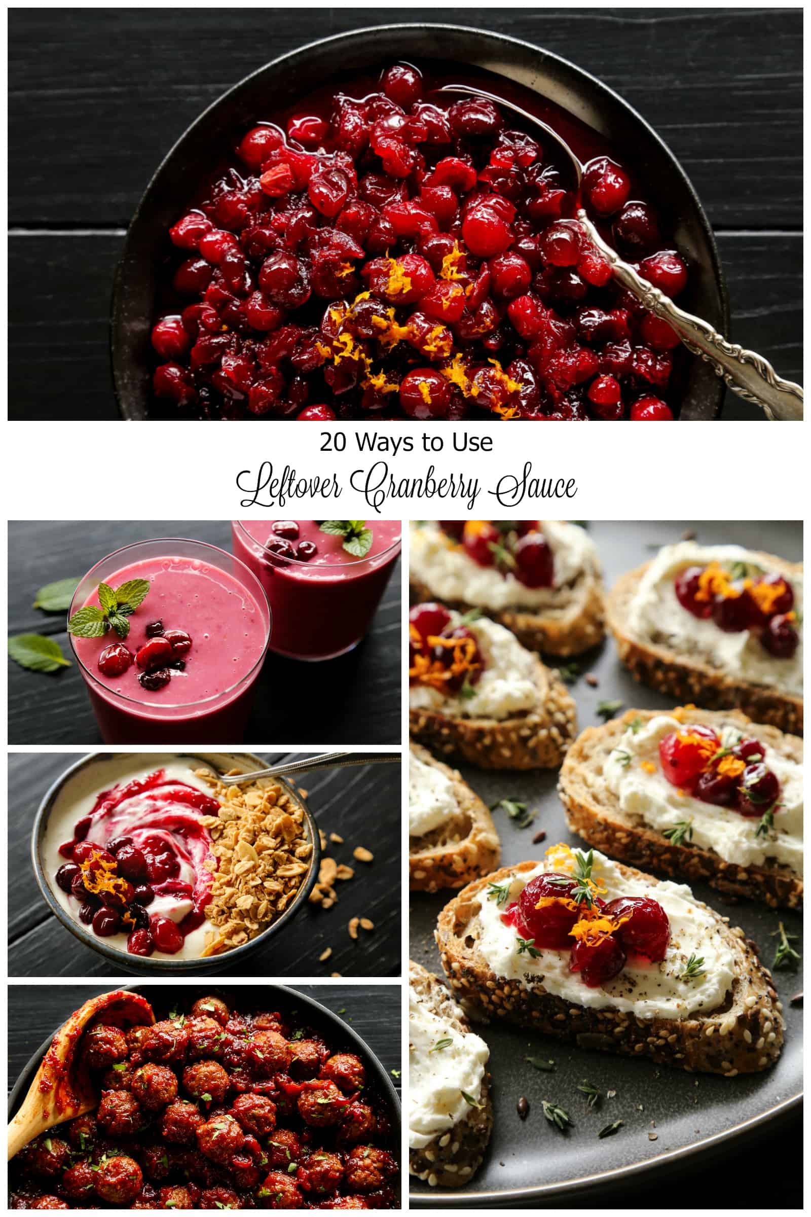 20 Ways to Use Leftover Cranberry Sauce from afarmgirlsdabbles.com