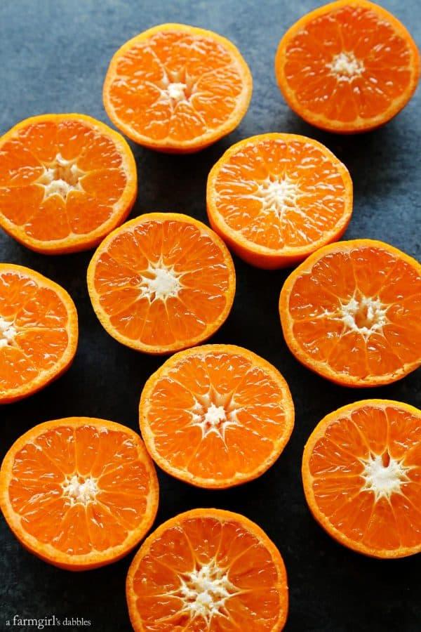 clementine halves