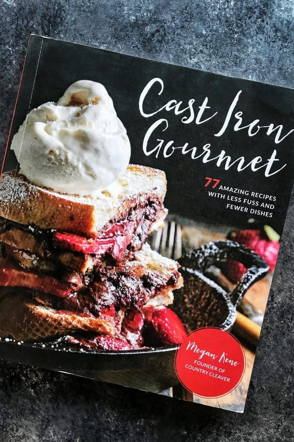 Cast Iron Gourmet cookbook from Megan Keno