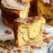 coffee cake recipe with sour cream