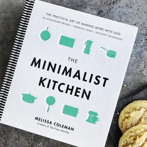 The Minimalist Kitchen by Melissa Coleman of The Faux Martha - from afarmgirlsdabbles.com