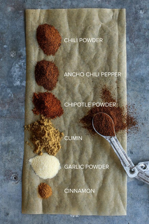 spices for Creamy Enchilada Chili