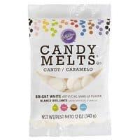 Wilton Bright White Candy Melts Candy, 12 oz.