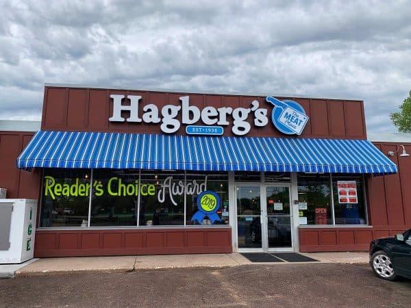 Hagberg's meat market