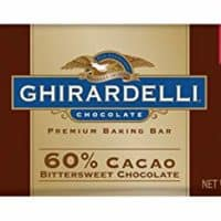 Ghirardelli 60% Cacao Bittersweet Chocolate Bar